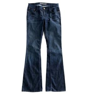 Level 99 Women's Dark Wash Bootcut Flare Jeans